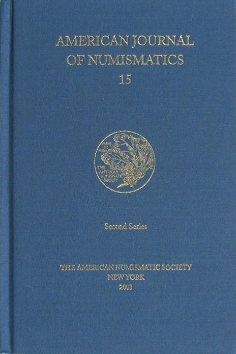 American Journal of Numismatics  Second Series, 15