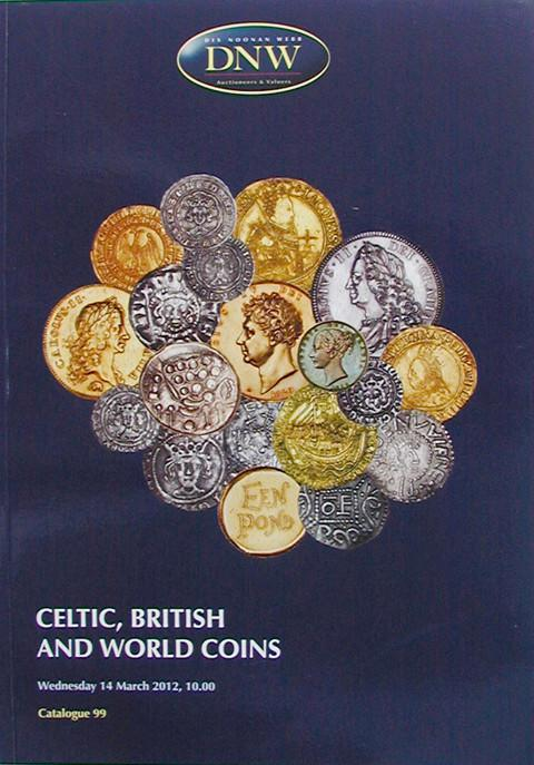 14 Mar, 2012.  DNW 99.  Celtic, British and World Coins.