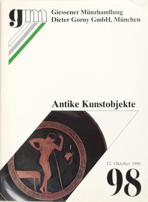 12 Oct 1999 Auktion 98.  Antike Kunstobjekte (Antiquities)