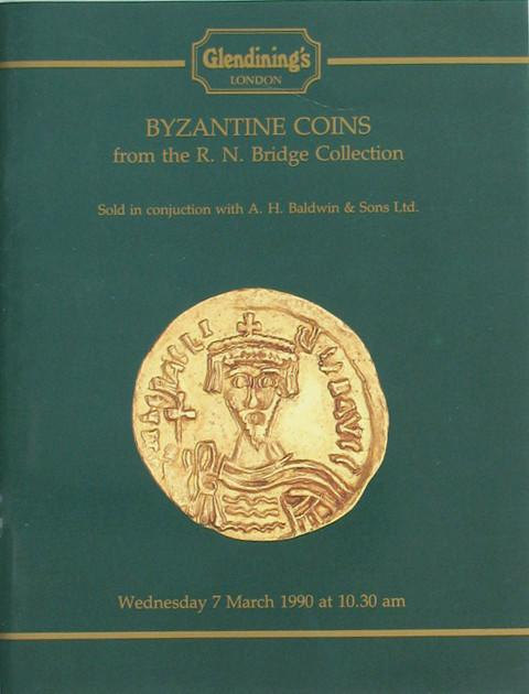 7 Mar, 1990 The R N Bridge Collection of Byzantine Coins.