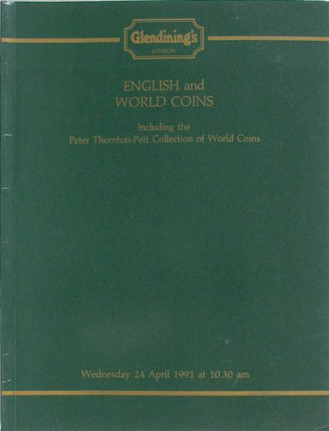 24 Apr, 1991 English & World Coins, including the Peter Thornton-Pett collection