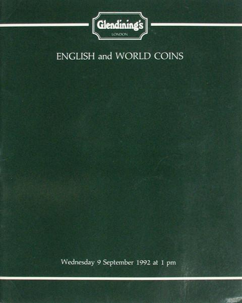9 Sep, 1992  English and world coins.