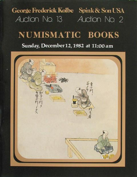 12 Dec, 1982. Numismatic Books.