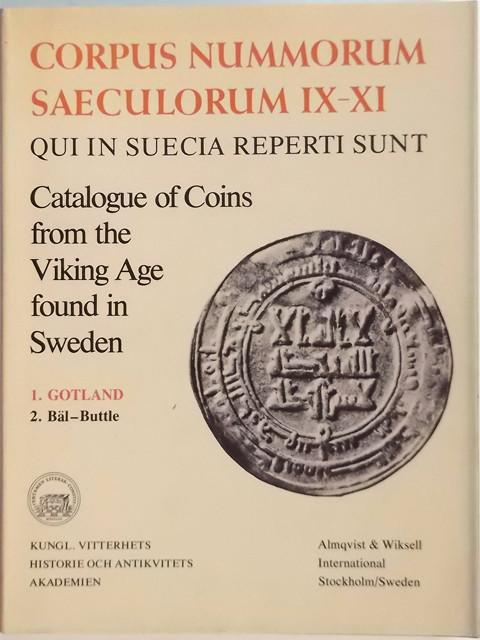 Catalogue of Coins from the Viking Age found in Sweden. 1. Gotland  2 B?_l - Buttle.