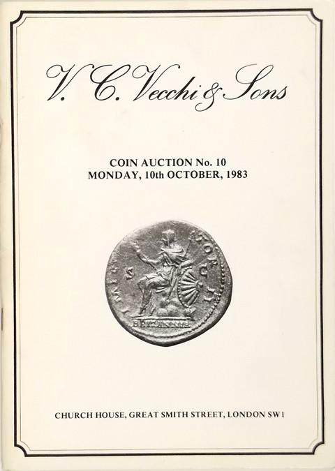 V C Vecchi & Sons. Auction 10.  10 Oct., 1983
