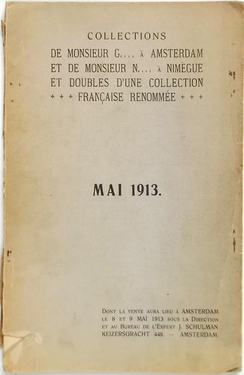 8-9 May 1913 European and Overseas coins and medals, Jewish material; railways, and aviation medals, etc.etc.