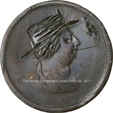 ENGRAVED COIN - SATYRICAL