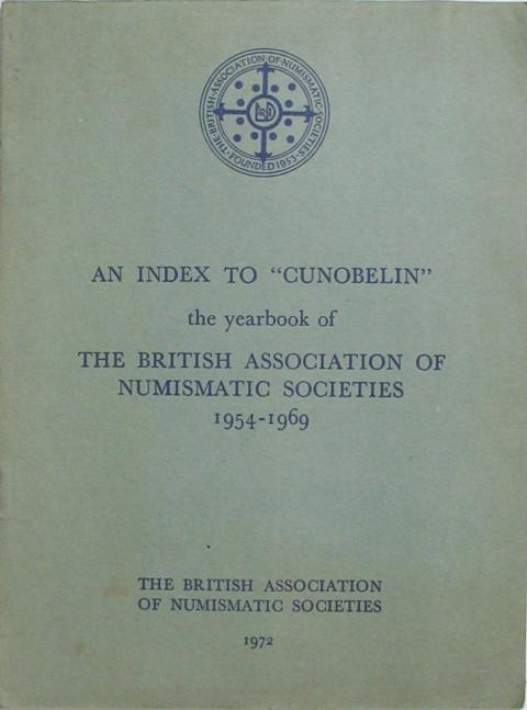 An Index to Cunobelin 1954 -1969