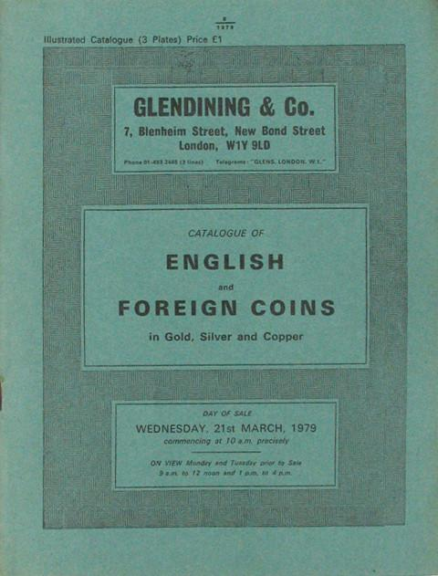 21 Mar, 1979  English and foreign coins.