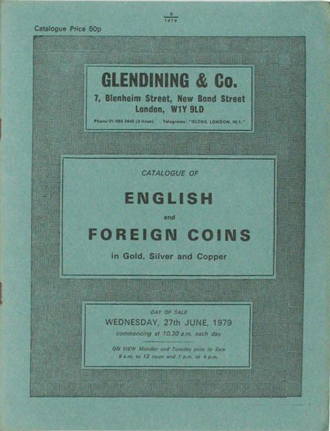 27 Jun, 1979  English and Foreign Coins.