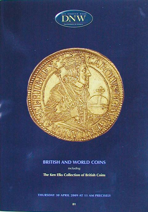 30 Apr, 2009.  DNW 81.  British and World Coins.