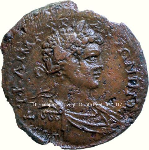 Caracalla 198-217 AD.  Amasia in Pontus