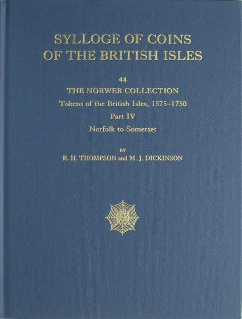 SCBI 44 The Norweb Collection. Tokens of the British Isles. Pt 4  Norfolk to Somerset.