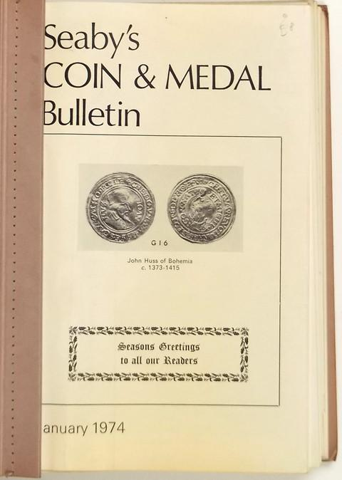 Seaby Coin and Medal Bulletin 1974