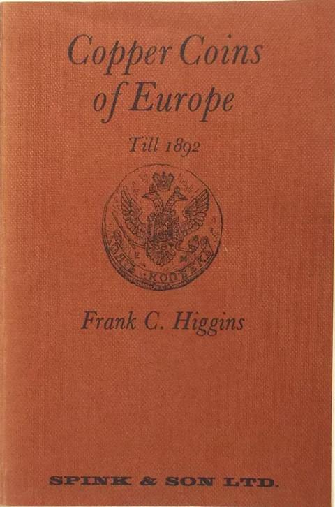An Introduction to the Copper Coins of Modern Europe till 1892.