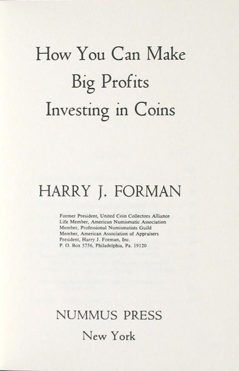 How You can make Big Profits Investing in Coins.