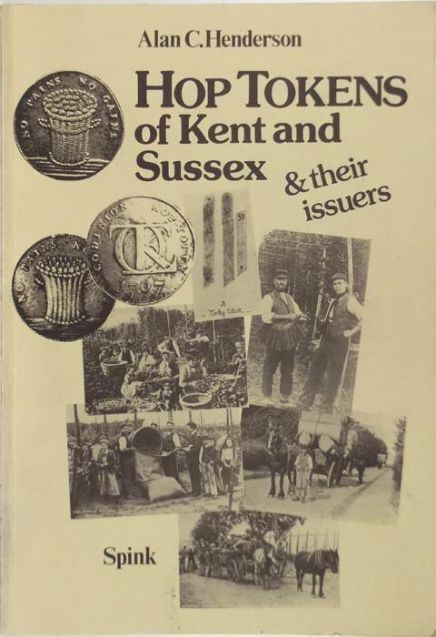 Hop Tokens of Kent and Sussex & their issuers.