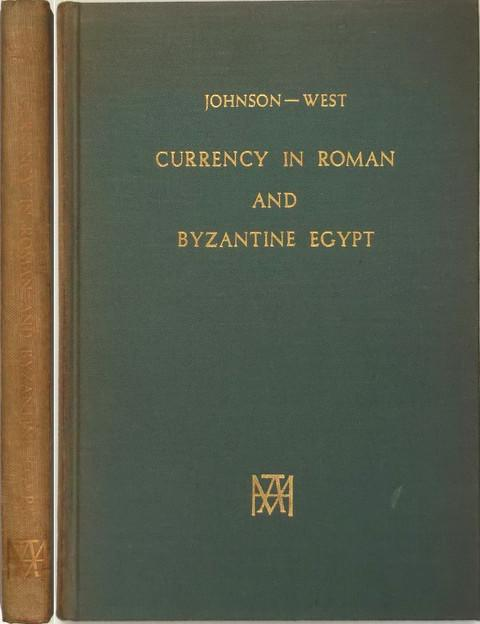 Currency in Roman and Byzantine Egypt.