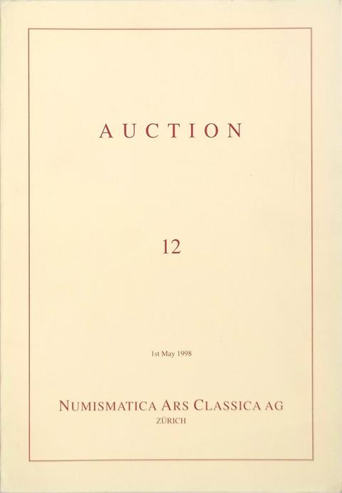 1 May 1998.  Auction 12.  Marques de Solanes collection. Mediaeval and modern Italian coins.