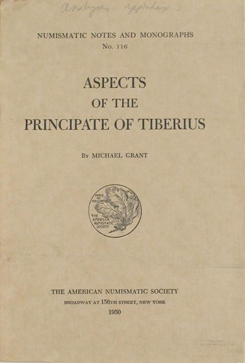 Aspects of the Principate of Tiberius