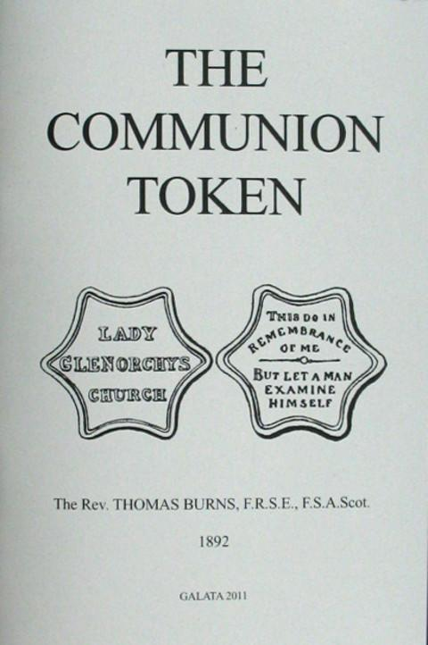 Communion Tokens (Books on)