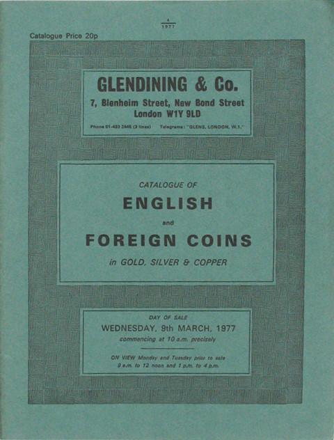 9 Mar, 1977  English and foreign coins.