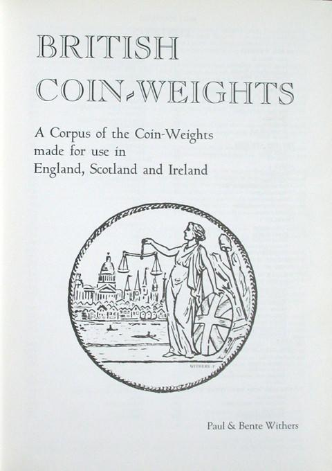 British Coin-Weights: A corpus of post-conquest coin-weights.