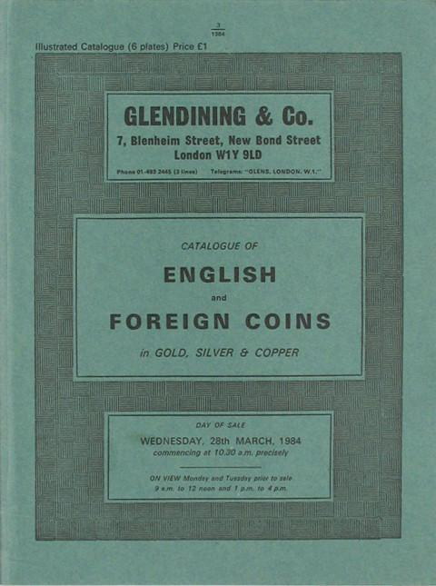 28 Mar, 1984 English and Foreign Coins