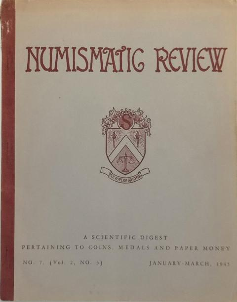 Numismatic Review, Volume 2, Number 3,