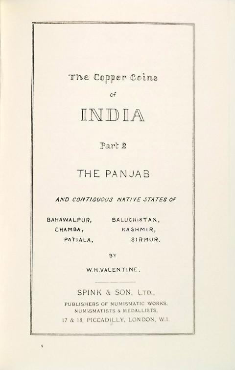 Copper Coins of India. Parts 1 and 2.