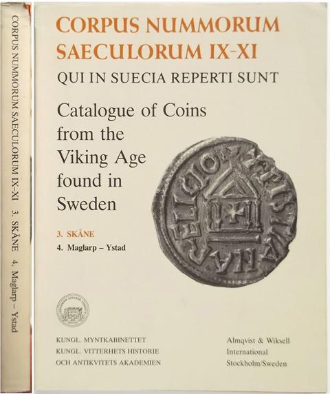 Catalogue of Coins from the Viking Age found in Sweden. 3. Sk̴ne 4  Maglarp - Ystad.