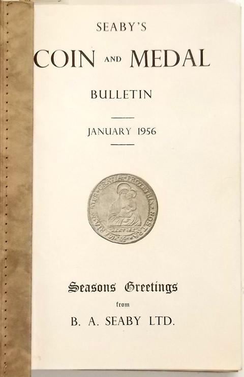 Seaby Coin and Medal Bulletin 1956