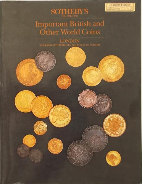 13 Feb, 1986  British and World Coins