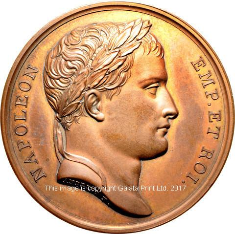 FRANCE, Napoleon, Commemorative medal for the successful Military Campaigns of 1806 and 1807.