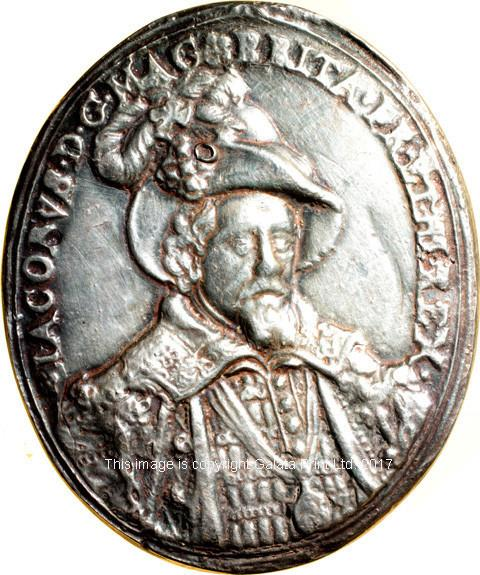 England, James I, Naval Reward Medal.  Ca 1620.
