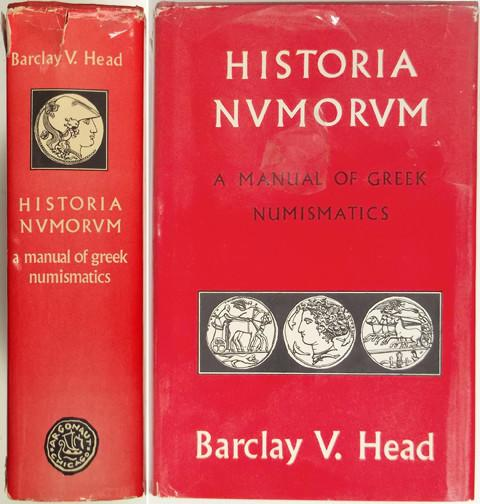 Historia Numorum. A Manual of Greek Numismatics.