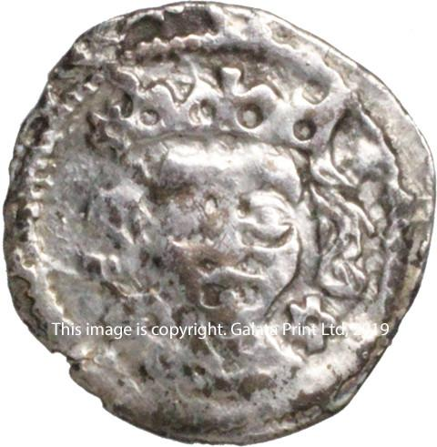 Edward IV, 1461-83. Suns and roses coinage. Penny of Dublin.
