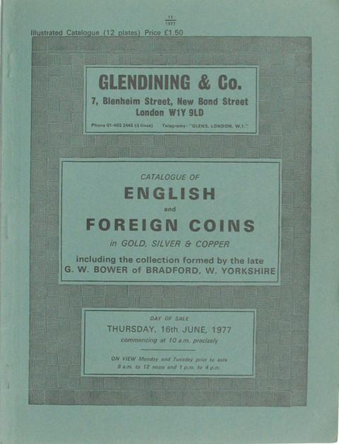 16 Jun, 1977  English and Foreign Coins.