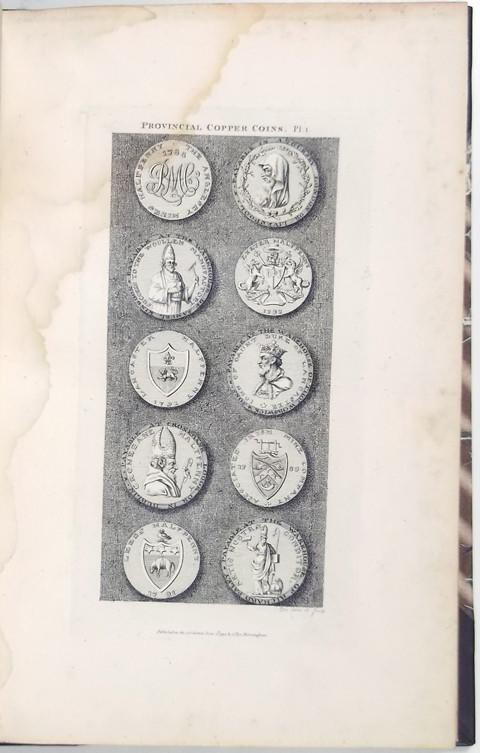Provincial Copper Coins or Tokens Issued Between the Years 1787 and 1796.