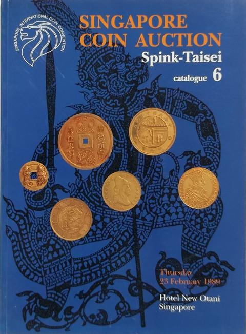 23 Feb, 1989. Spink-Taisei. Auction 6.