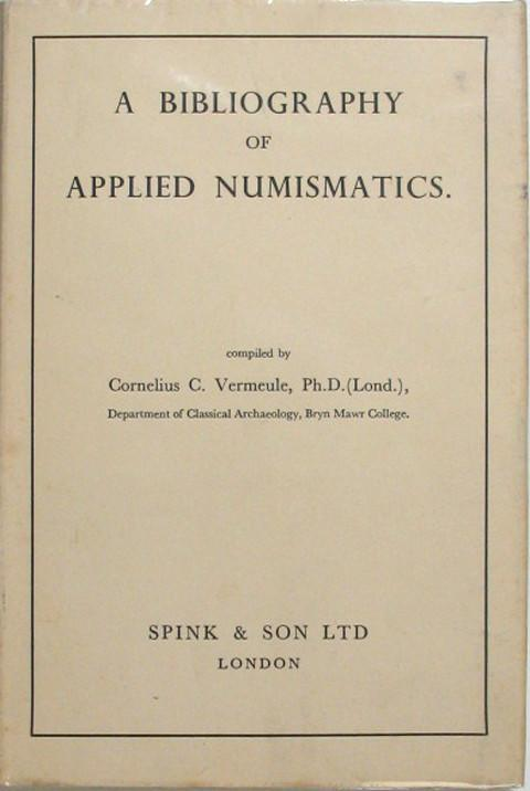 Bibliography of Applied Numismatics.