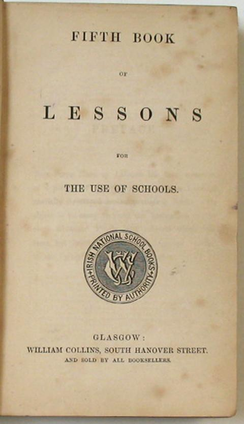 Fifth Book of Lessons for the use of Schools.