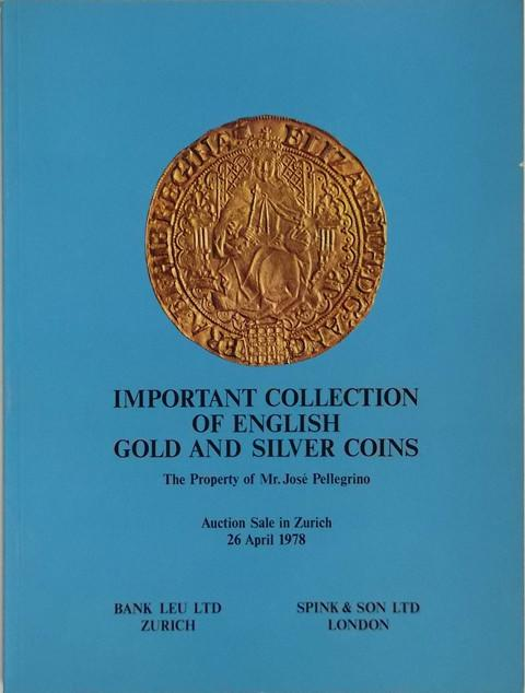 26 April 1978. Jose Pellegrino collection of Gold and Silver Coins
