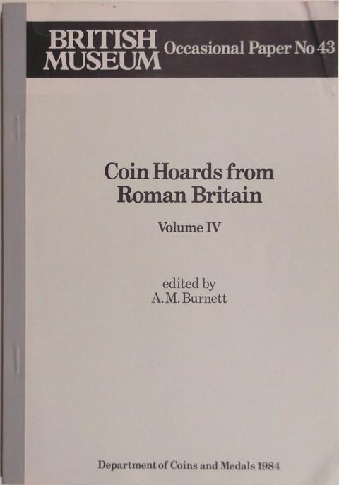 Coin Hoards from Roman Britain. Volume IV.