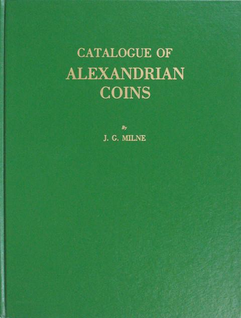Catalogue of Alexandrian Coins.