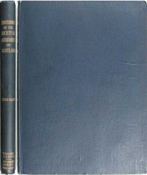 Proceedings of the Society of Antiquaries of Scotland 1942-3.