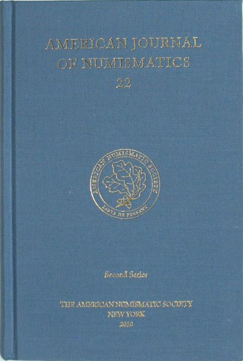 American Journal of Numismatics  Second Series, 22
