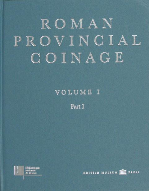 Roman Provincial Coins (Books on)