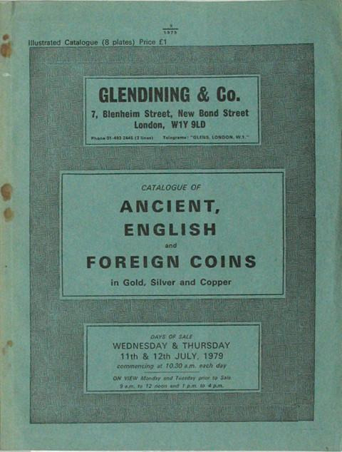 11 Jul, 1979  Ancient, English and Foreign Coins.