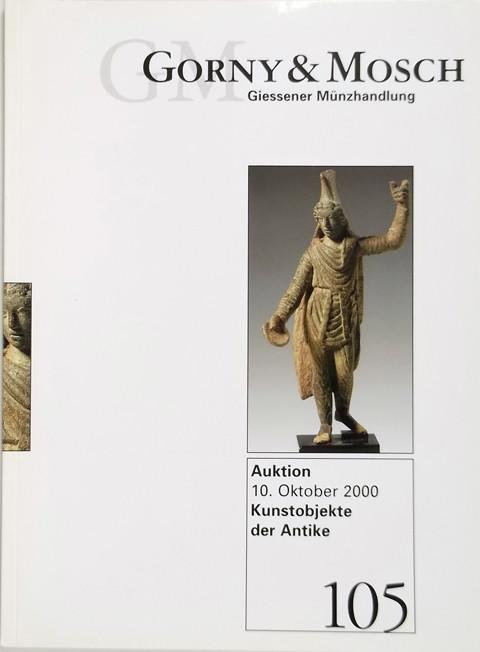 10 Oct 2000 Auktion 105.  Antike Kunstobjekte (Antiquities)